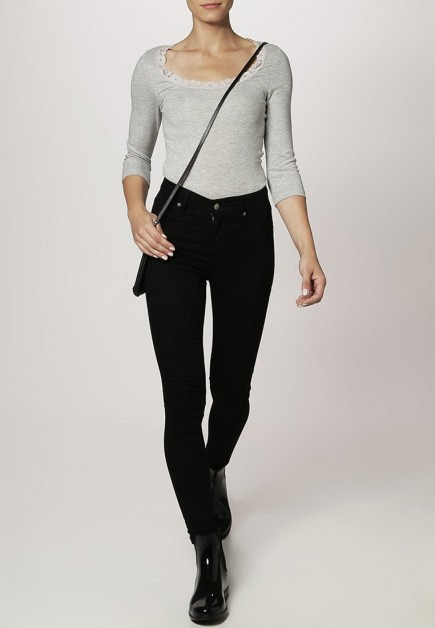 Pantalon negro de Cheap Monday en Zalando
